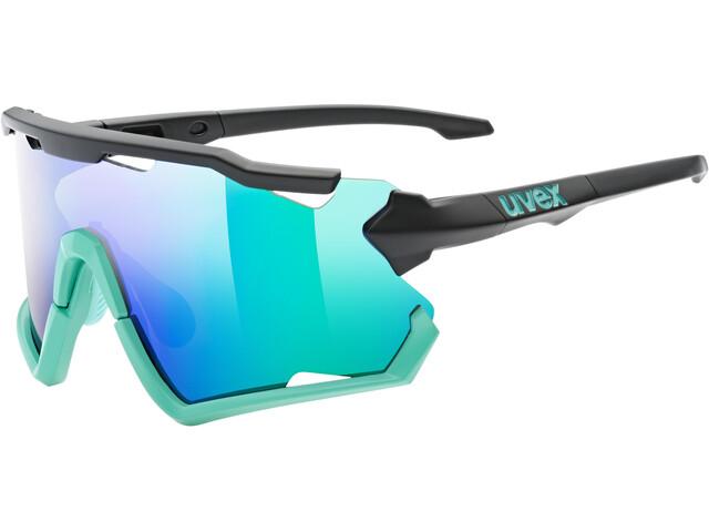 UVEX Sportstyle 228 Glasses, negro/Turquesa